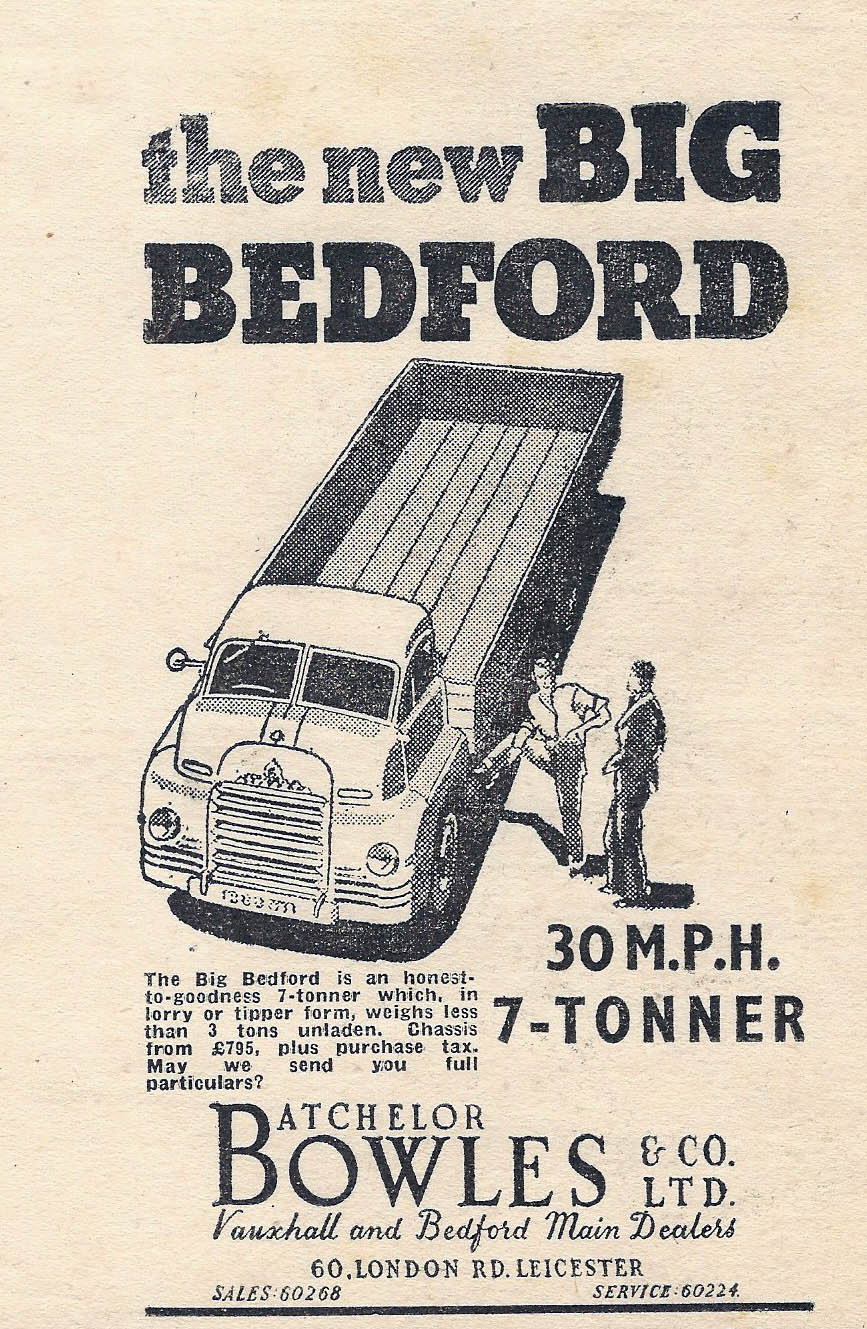 Big Bedford Advertisement