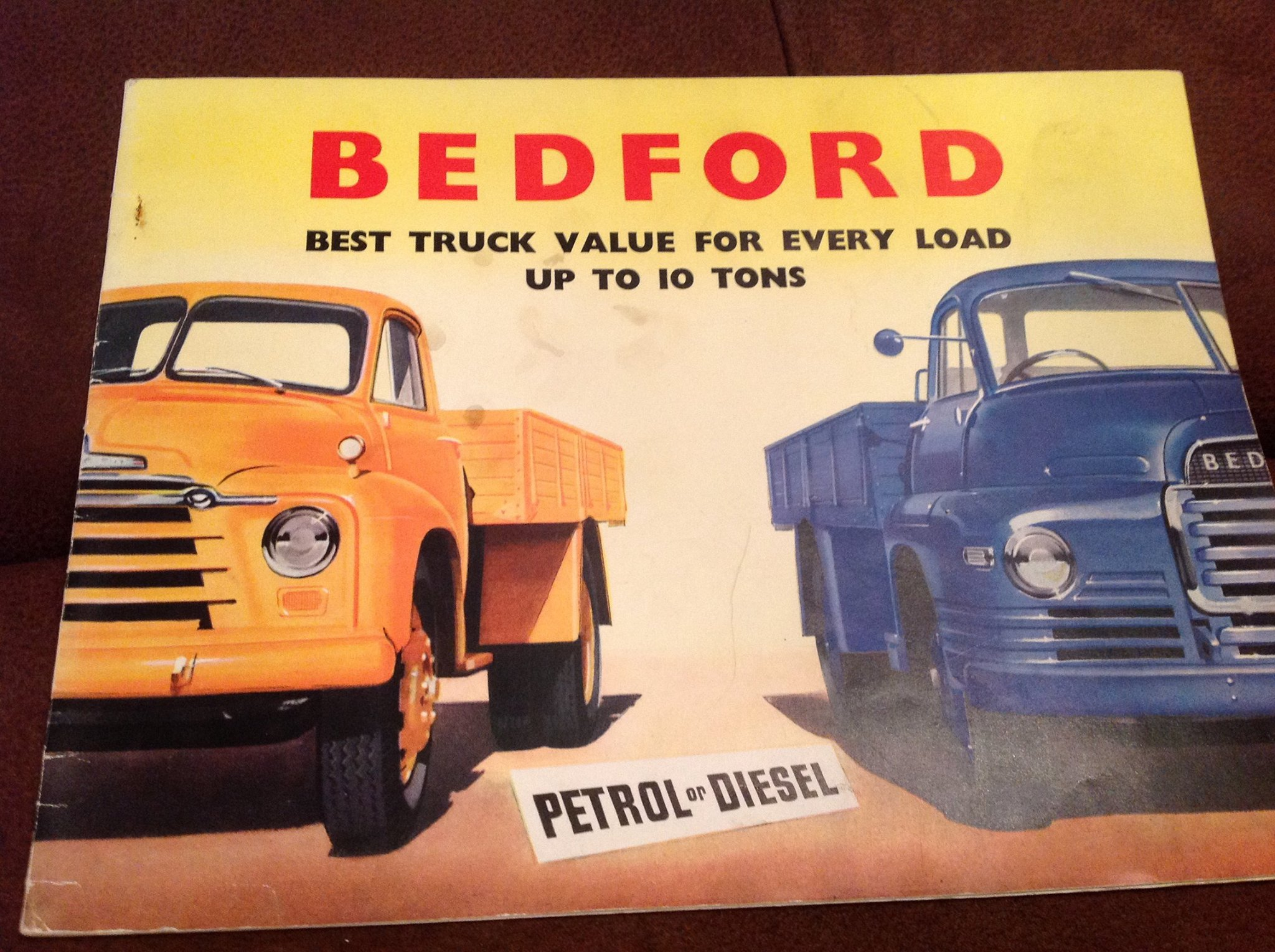 Bedford Advertisement